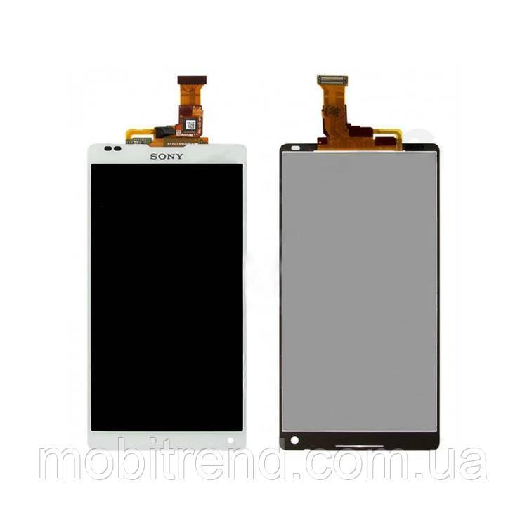 Дисплей модуль Sony C6502 L35h Xperia ZL, C6503 L35i Xperia ZL, C6506 Xperia ZL Белый