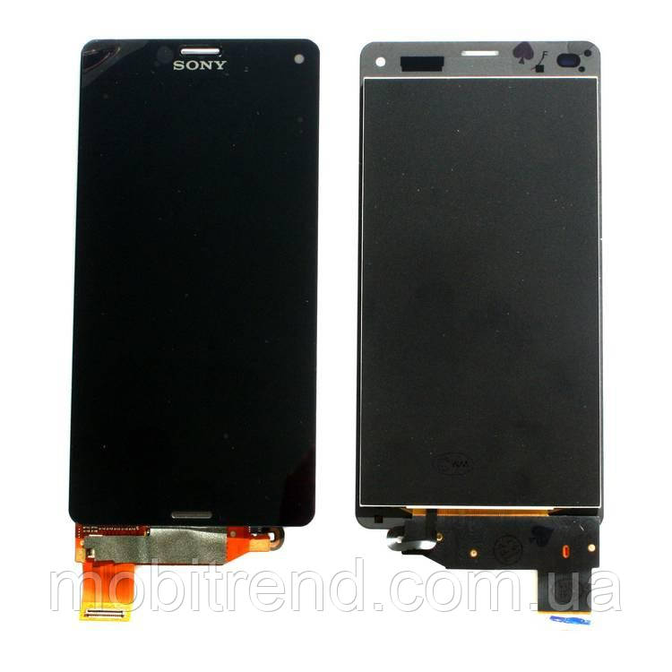 Дисплей модуль Sony D5803 Xperia Z3 Compact Mini, D5833 Черный