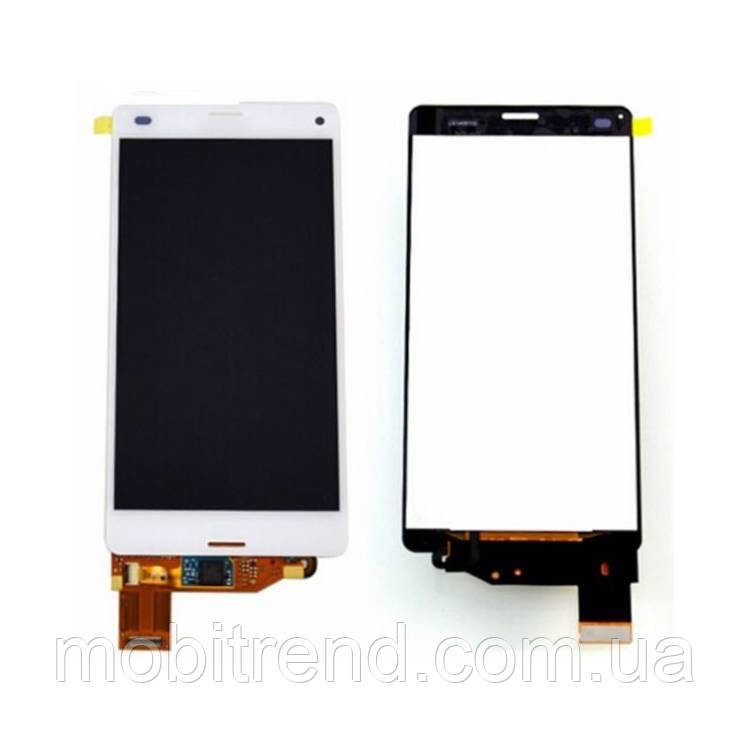 Дисплей модуль Sony D5803 Xperia Z3 Compact Mini, D5833 Белый