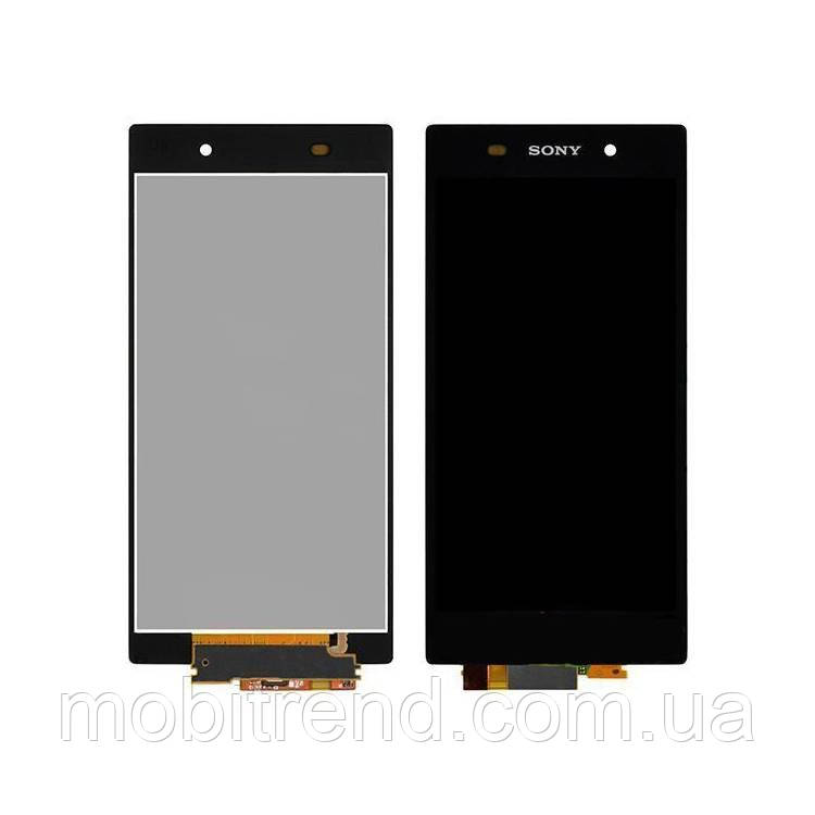 Дисплей модуль Sony D6502 Xperia Z2, D6503 Черный