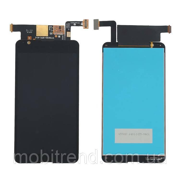 Дисплей модуль Sony E4G, E2003, E2006, E2033 Черный