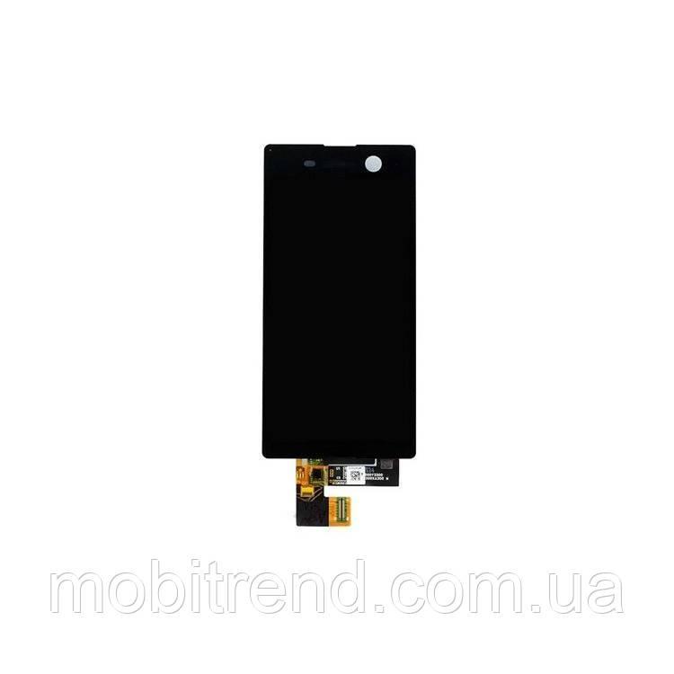 Дисплей модуль Sony E5633 Xperia M5 dual, E5653, E5603 Черный