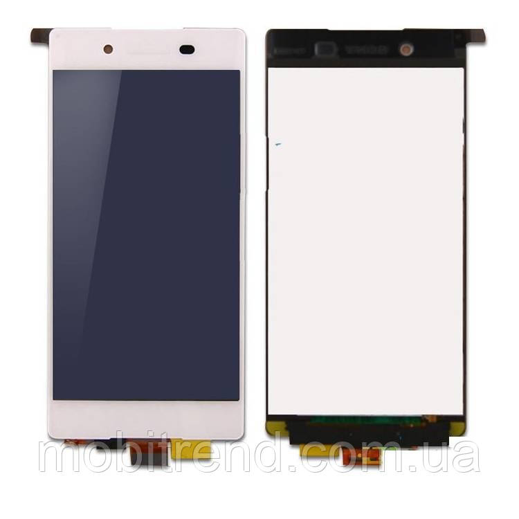 Дисплей модуль Sony E6533 Xperia Z3 Plus, E6553 Белый