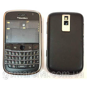 Задняя часть корпуса BlackBerry 9000 Черный Оригинал