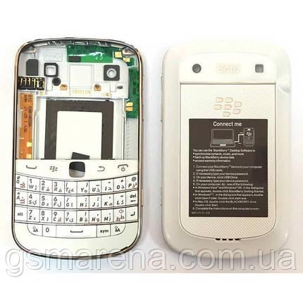 Задняя часть корпуса BlackBerry 9900 Bold Белый Complete Оригинал, фото 2