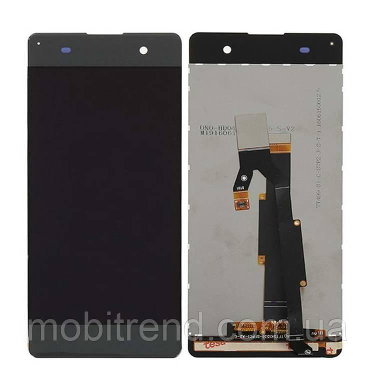 Дисплей модуль Sony F3112 Xperia XA, F3111, F3113, F3115, F3116 graphite Черный