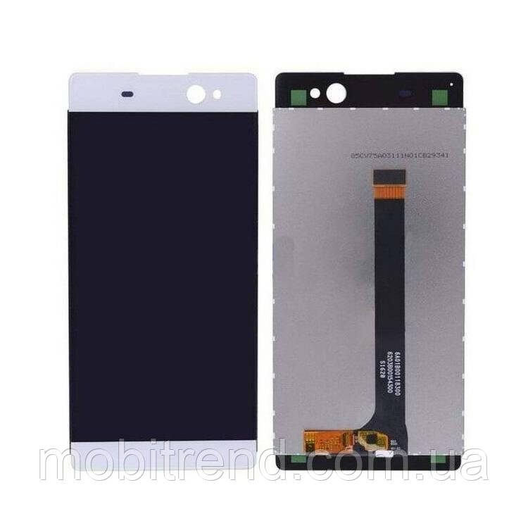 Дисплей модуль Sony F3212 Xperia XA Ultra, F3215, F3216 Белый