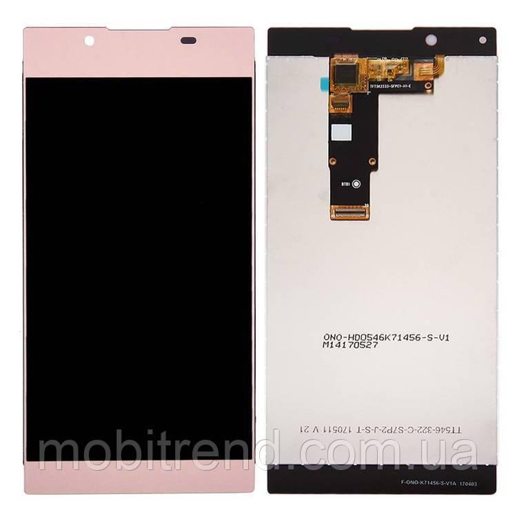 Дисплей модуль Sony G3312 Xperia L1 Розовый