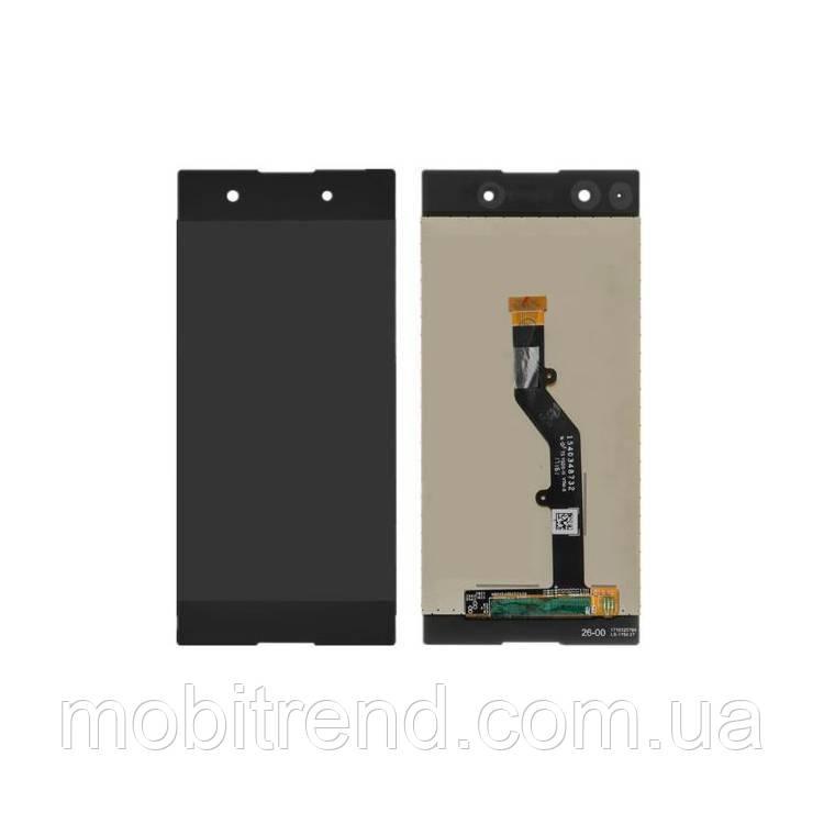Дисплей модуль Sony G3412 Xperia XA1 Plus Dual Черный
