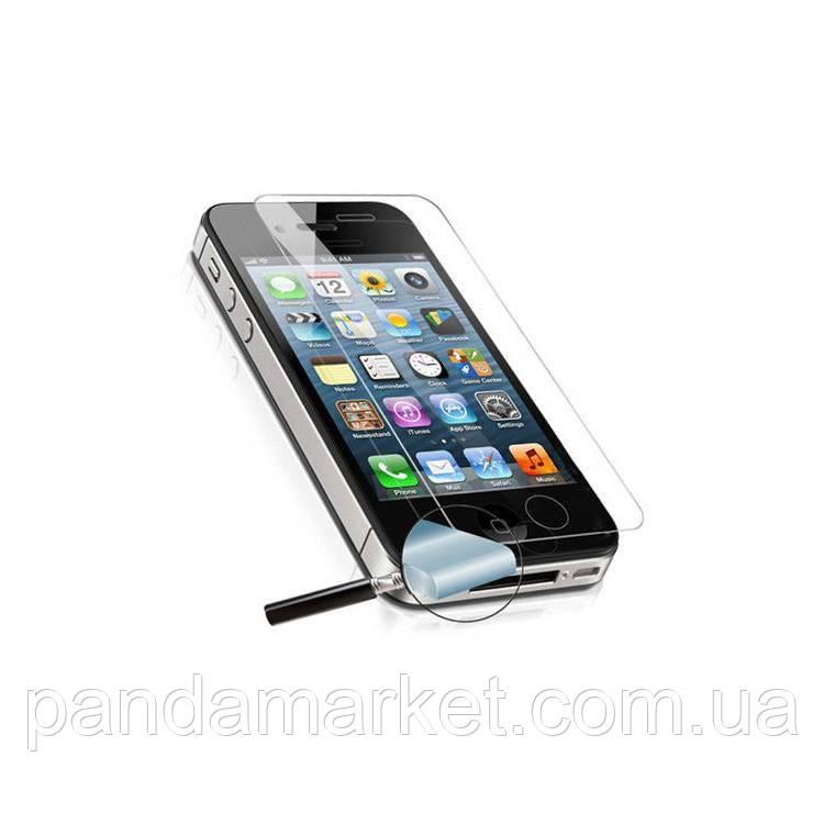 Защитное стекло Apple iPhone 4, 4S Tempered Glass Pro+ противоударное без упаковки 0.3mm