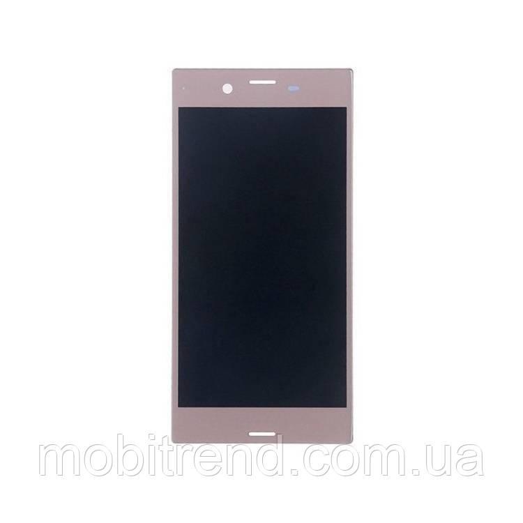 Дисплей модуль Sony Xperia XA F3111, F3112, F3113, F3115, F3116 Розовый