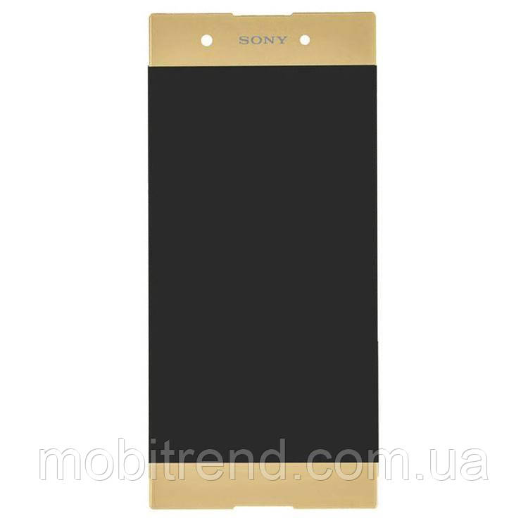 Дисплей модуль Sony Xperia XA1 Plus, G3412 Золотой