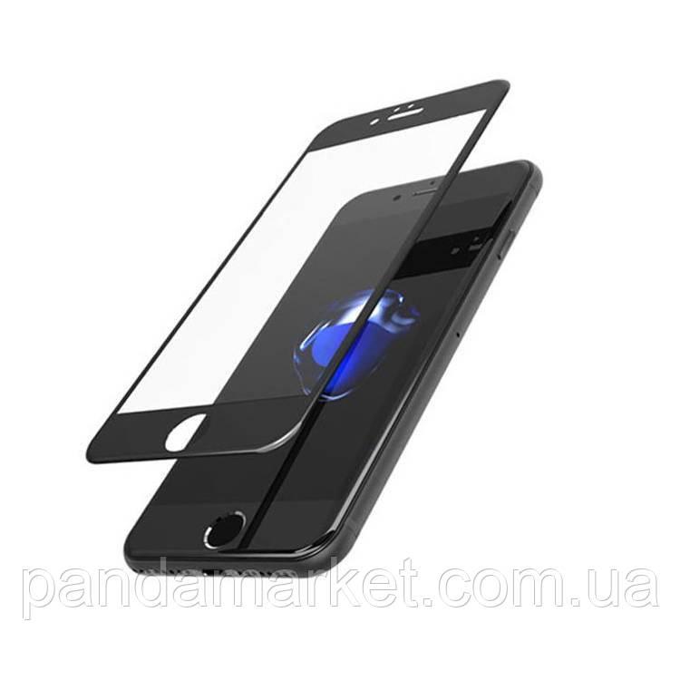 Защитное стекло 4D Apple iPhone 7, 8 (0.3mm, 3D, 4D), Japan, черное, с олеофобным покрытием)