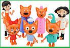 Набор фигурок Три кота 7 штук | Игровой набор Три кота - 7 штук в наборе | Фигурки Три кота, фото 2