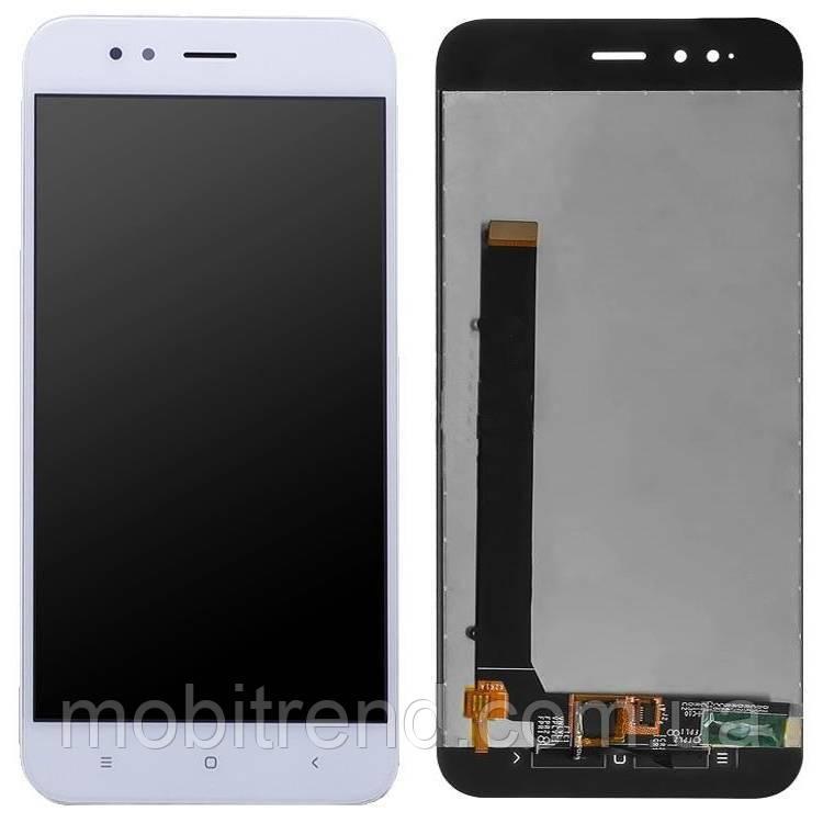 Дисплей модуль Xiaomi Redmi Mi A1 (MDG2), Mi5X Белый