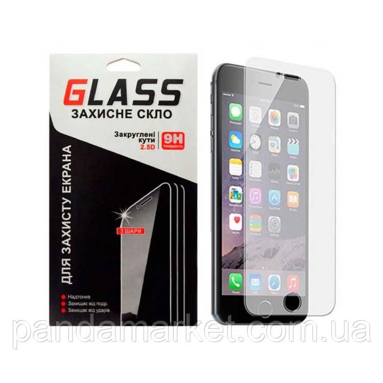 Защитное стекло 2.5D Samsung J7 (2017) J730 0.3mm Glass