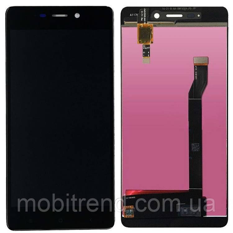 Дисплей модуль Xiaomi Redmi 4 (2016090) Черный