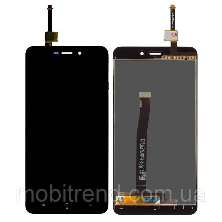 Дисплей модуль Xiaomi Redmi 4A (MZB5602IN) Черный