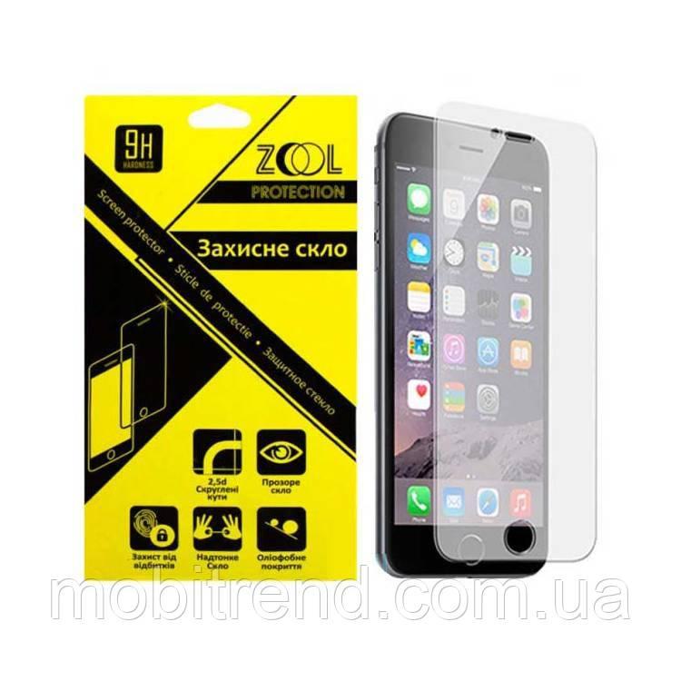 Защитное стекло 2.5D Apple iPhone 4 0.3mm Zool