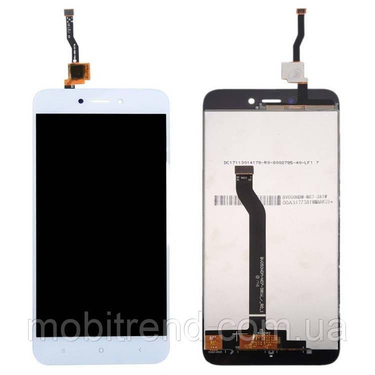 Дисплей модуль Xiaomi Redmi 5A Белый