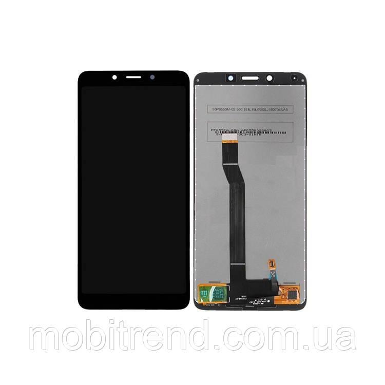 Дисплей модуль Xiaomi Redmi 6 (HM6), Redmi 6A (M1804C3CG, M1804C3CH, M1804C3CI) Черный