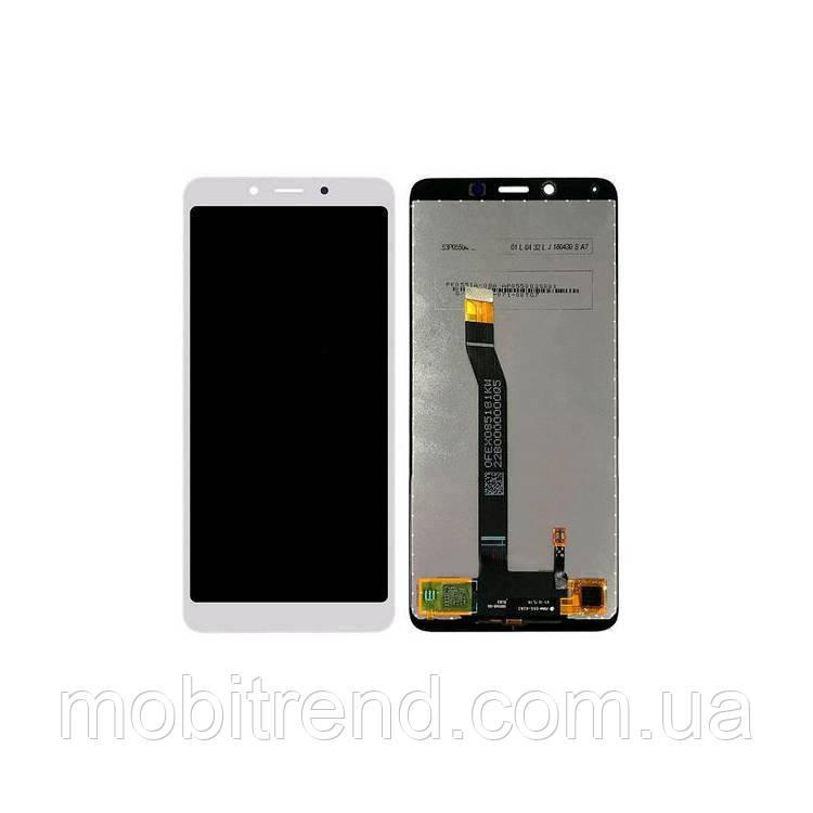 Дисплей модуль Xiaomi Redmi 6, 6A Белый