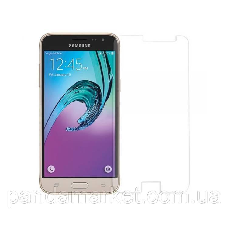 Защитное стекло 2.5D Samsung J300, J320 J3 (2016) (0.3mm, 2.5D, с олеофобным покрытием)