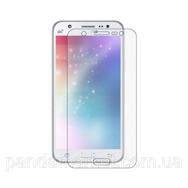 Защитное стекло 2.5D Samsung J500 J5 (0.3mm, 2.5D, с олеофобным покрытием)