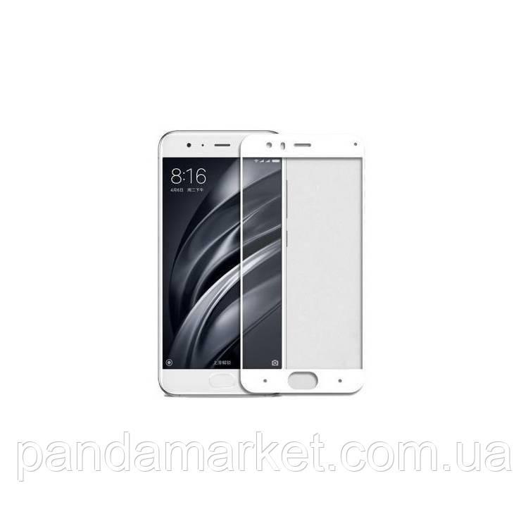 Защитное стекло 2.5D Xiaomi Redmi MI Note 3 (0.3mm, 2.5D, с олеофобным покрытием) Белый