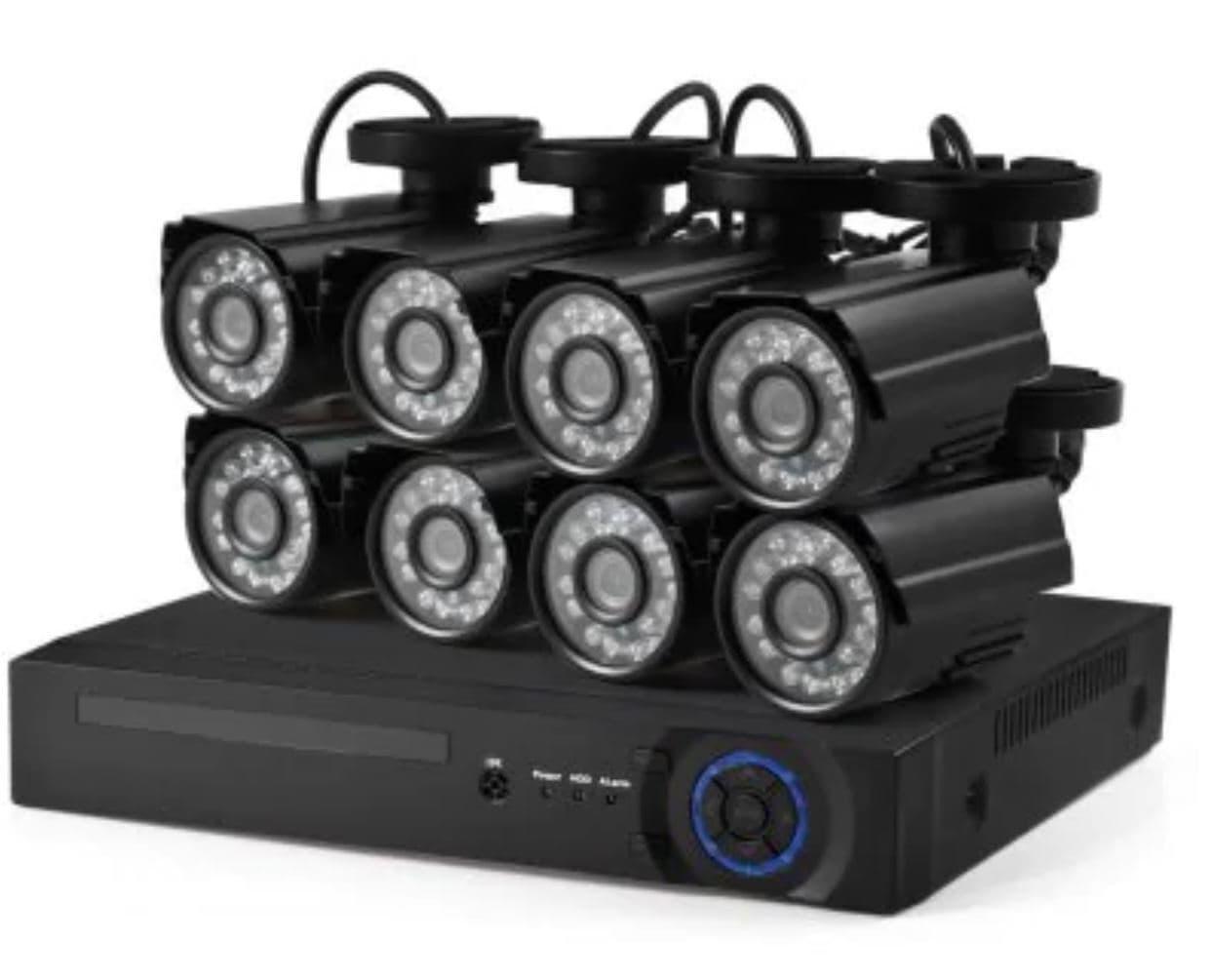 Система видеонаблюдения D1608N - 8XC102L1   с 8 камерами