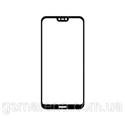 Защитное стекло 2.5D Huawei P20 Черный, фото 2