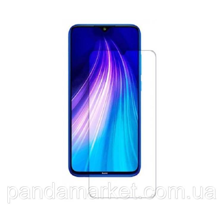 Защитное стекло 2.5D Xiaomi Redmi Note 8 (0.3mm, 2.5D, с олеофобным покрытием)