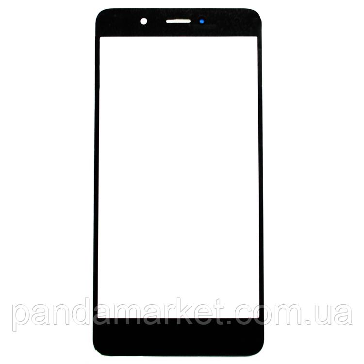 Стекло дисплея для переклейки Huawei Y7 (2017) (TRT-LX1) Черный