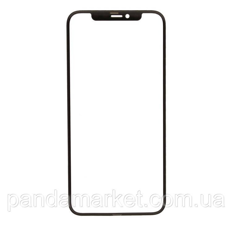 Стекло дисплея для переклейки Apple iPhone 11 Pro + OCA (5.8) Черный