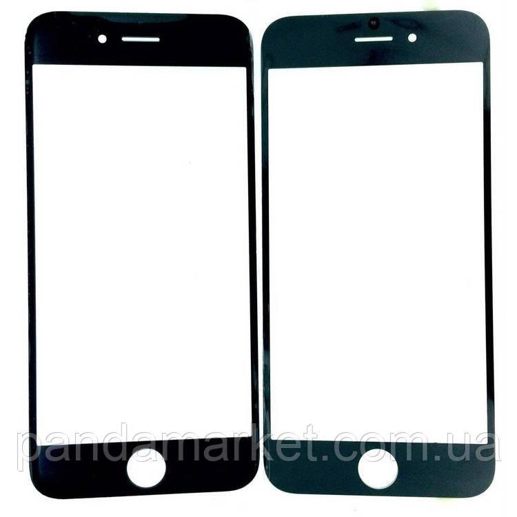 Стекло дисплея для переклейки Apple iPhone 6 (4.7) Черный