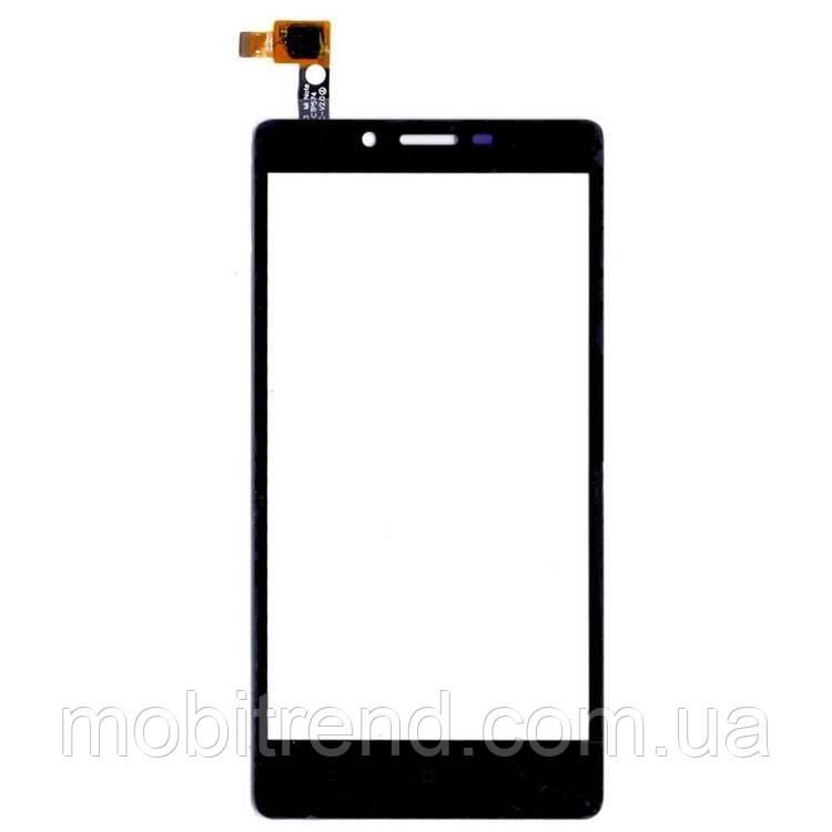 Тачскрин сенсор Xiaomi Redmi Note Черный Оригинал