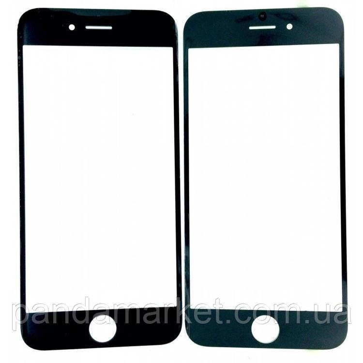 Стекло дисплея для переклейки Apple iPhone 7 (4.7) Черный