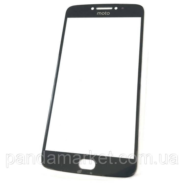 Стекло дисплея для переклейки Motorola G5 Plus XT1685 Черный