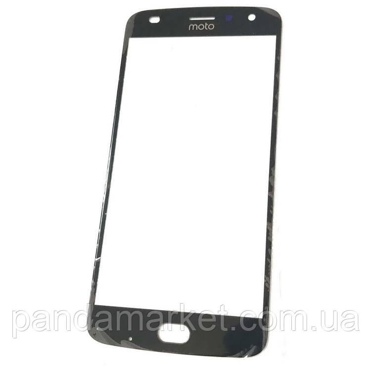 Стекло дисплея для переклейки Motorola XT1710 Moto Z2 Play Черный