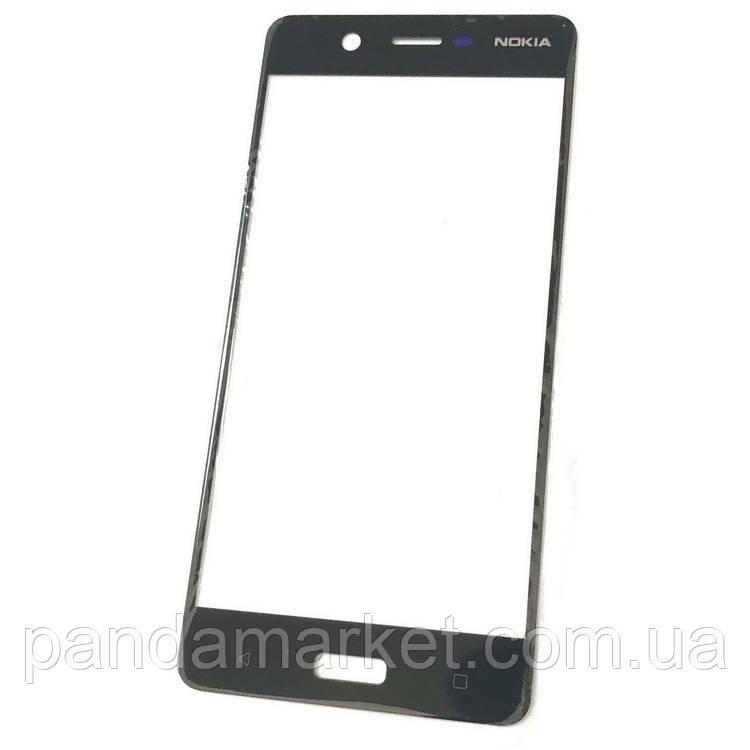 Стекло дисплея для переклейки Nokia 5 Черный