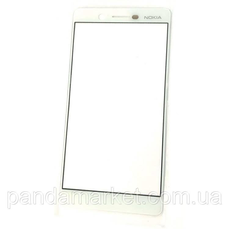 Стекло дисплея для переклейки Nokia 7 Белый