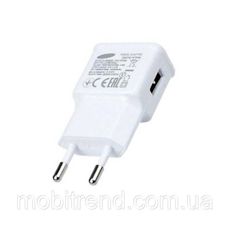 Зарядное устройство Samsung ETA-U90EWE 5.0V 1USB 2.0A (1.0A) Белый