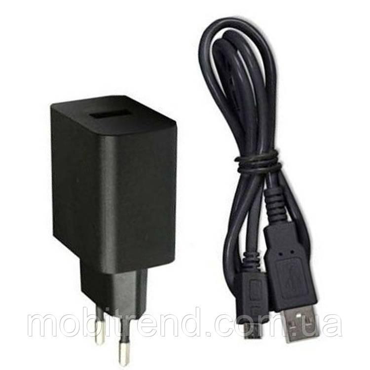 Зарядное устройство Huawei 2in1 + кабель 2.0A Черный