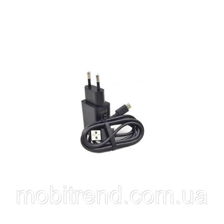Зарядное устройство Lenovo 2in1+ кабель 2.0A Черный