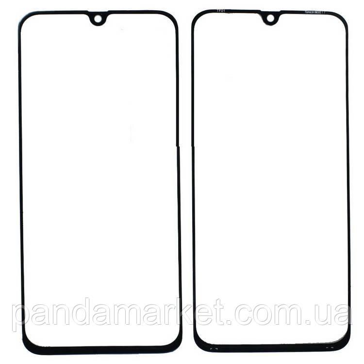 Стекло дисплея для переклейки Samsung A40 A405 (2019) Черный