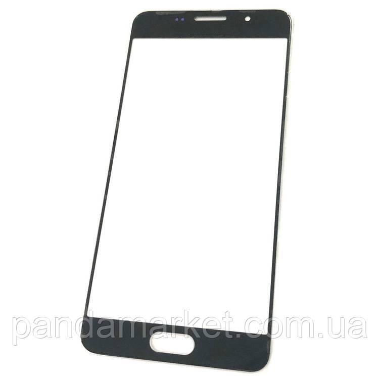 Стекло дисплея для переклейки Samsung A5 A510F (2016) Черный