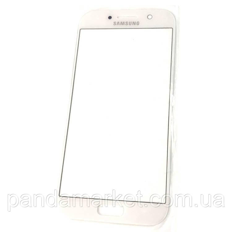 Стекло дисплея для переклейки Samsung A5 A520F (2017) Белый