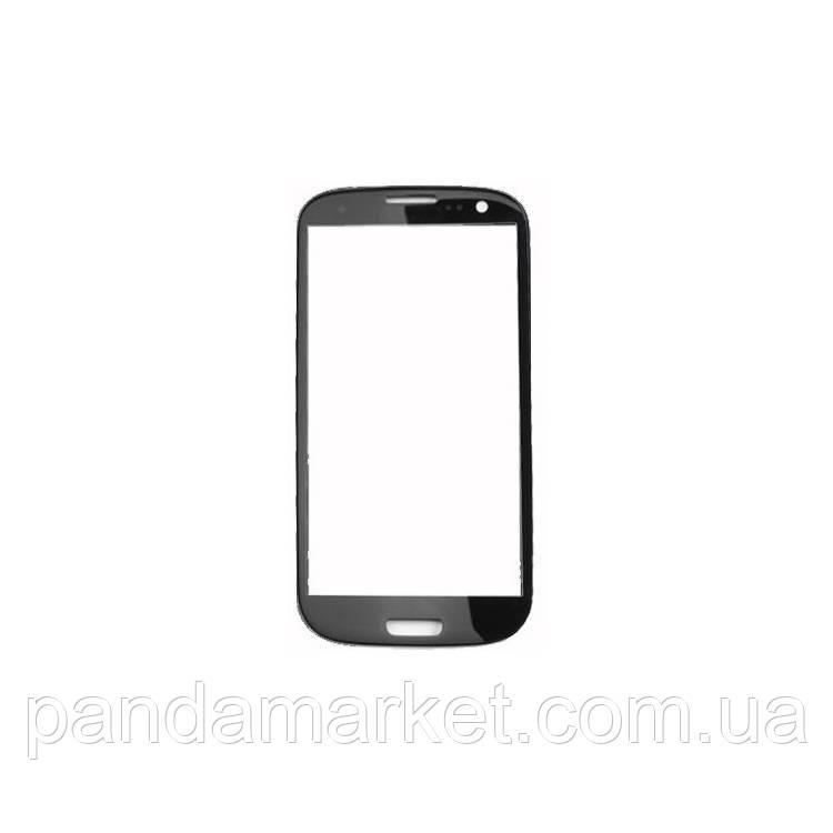 Стекло корпуса Samsung i9300 S3 Черный