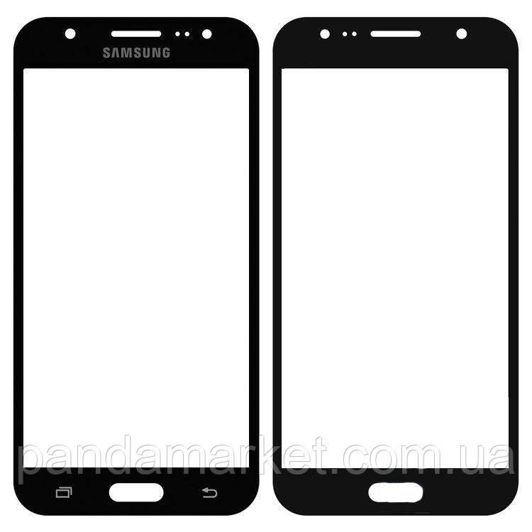 Стекло корпуса Samsung J500 J5 Черный Оригинал