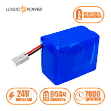 Аккумулятор LP LiFePo-4 24 V - 90 Ah (BMS 80A)